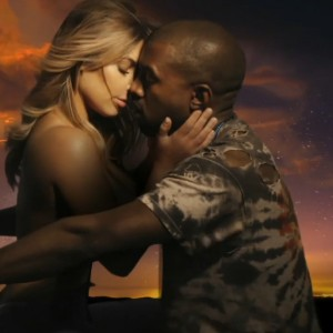 Kanye West Dry Humping Fiance Kim in Bound 2 Video