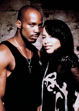 Aaliyah alongside co-star  DMX in Romeo Must Die