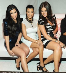 Kim, Kourtney and Khloe are known for their curves